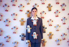 "Julita Wójcik, ""Misie"", 2000, fot. Jacek Niegoda"