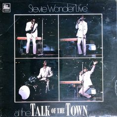 STEVIE WONDER - 'Live' At The Talk Of The Town (Tamla Motown STML 11164) Vinyl   Music