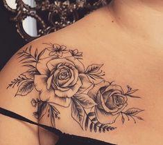 # tattoo # tattoo art - tattoo feminina - 41 Most Beautiful Shoulder Tattoos for Women - Arrow Tattoos, Rose Tattoos, Body Art Tattoos, Sleeve Tattoos, Tattoo Art, Small Forearm Tattoos, Small Flower Tattoos, Cute Small Tattoos, Trendy Tattoos