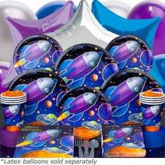 space party supplies