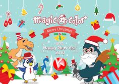 Merry Christmas and Happy new year 2016 Happy New Year 2016, New Years 2016, Merry Christmas And Happy New Year, Magic Book, Quality Time, Your Child, Coloring Books, Children, Kids