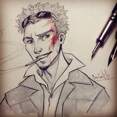Inktober day 23 - Tyler Durden by nary-san on DeviantArt
