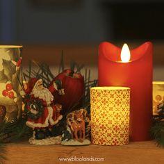 Les bougies à flamme oscillante sont parfaite pour la sécurité des enfants !