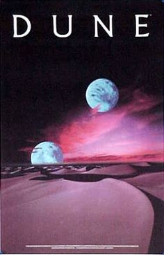 Dune Two Moon Poster