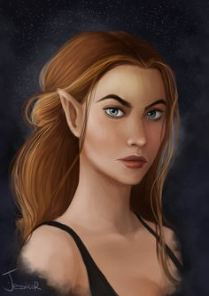 Feyre Archeron - High lady of the Night Court by jessicarix.deviantart.com on @DeviantArt