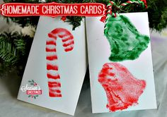 Christmas crafts for kids: Homemade Christmas Cards and Gifts with an Airbrush Art Kit Homemade Christmas Cards, Homemade Cards, Christmas Holidays, Christmas Decor, Christmas Activities For Kids, Holiday Crafts, Card Ideas, Gift Ideas, Special Friends