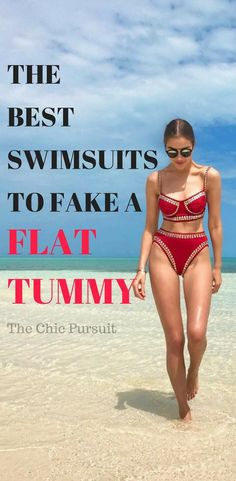 c462fe80ca33a 41 Seriously Fabulous Swimsuits To Hide A Belly Pooch | Chic Pursuit.  Swimsuit ...