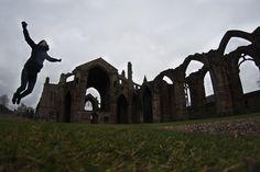 Melrose Abbey. Scotland