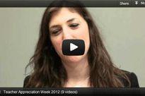 Videos: Celebs Honor Educators for Teacher Appreciation Week.
