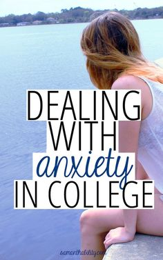 I've always been an anxious person, and college just seems to exacerbate my natural tendency to freak out a lot. Luckily, I know I'm not alone in this struggle. Every college student faces anxiety at one point or another in their college career. Online College, Education College, Physical Education, Health Education, College Teaching, Education Degree, College Courses, Visiting Teaching, Science Education