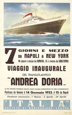 Andrea Doria. 1953