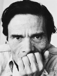 Italian poet, writer and film director Pier Paolo Pasolini by Dino Pedriali, 1975