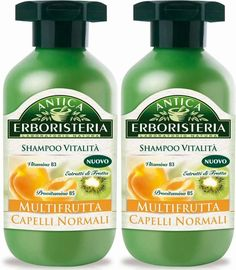 Antica Erboristeria: 'Multifrutta' ('Multi-fruit') Shampoo * 8.45 Fluid Ounce (250ml) Package (Pack of 2) * [ Italian Import ] ** Check this awesome product by going to the link at the image.