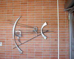 Mid Century Modern Sculpture Eye Doctor's Office