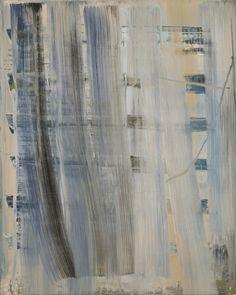 """ Gerhard Richter (German, b. 1932), Abstraktes Bild (857-1), 1999. Oil on canvas, 102 × 82 cm. """
