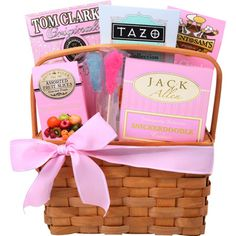 Sensational Tazo Tea Picnic Gift Basket w/Jack Allen`s Cookies and Sliced Fruits Picnic Gift Basket, Tea Gift Baskets, Wrapping Gift Baskets, Small Gifts For Friends, Macadamia Nut Cookies, White Chocolate Macadamia, Tazo, Tea Gifts, Sweetest Day
