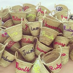 """""""#regram from our friends at the fabulous @edit.58. We can't get enough of their personalised mini baskets! Could the they be any cuter?? You can order yours now from edit58.com. #littlespree #weloveabasket #littlespreeloves #baskets"""" Photo taken by @littlespree on Instagram, pinned via the InstaPin iOS App! http://www.instapinapp.com (08/23/2015)"""