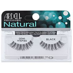 Shop for Natural Black Lashes from Ardell at Sally Beauty. Natural Lashes are lightweight, reusable, easy-to-apply, and give you a natural look of full, beautiful lashes. Ardell Eyelashes, False Eyelashes, How To Remove Adhesive, Natural Beauty Remedies, Wispy Lashes, Oil Free Makeup, Natural Eyelashes, Best Lashes