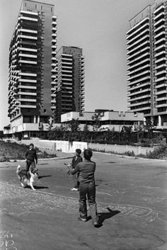 Lebed housing construction cooperative, Moscow 1984