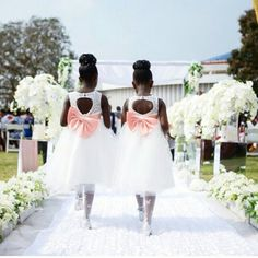 Flower Girls #Nigerian Weddings