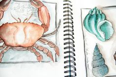 Alisa Burke - love her work! Diy Projects To Build, Sewing Projects, Alisa Burke, Fancy Hands, Sketchbook Pages, Journal Design, Nature Journal, Beautiful Drawings, Copics