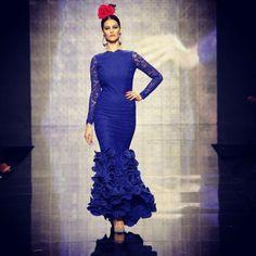 """Colección """"Va por ti"""" de la diseñadora Pilar Rubio @_PilarRubio_  #ModaAndaluza #ModaFlamenca #Andalucía"""