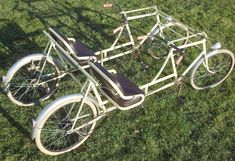 1939 Sironval Sportplex Quadricycle The Online Bicycle Museum