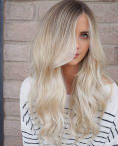 Loving this ice platinum blonde by @maggiemh on instagram.