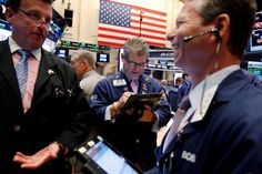 U.S. Stocks Hit Record Highs On Easing Central Bank Outlook, Oil Rise