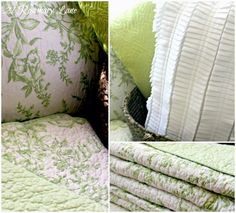 21 Rosemary Lane: For the Love of Green and White~ Contemplating a New Look for Our Master Bedroom