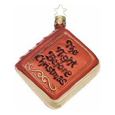 Bookish Ornaments | Christmas ornament, Ornament and Books