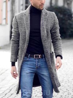 Mens Fashion Night Out Outfit Hombre Casual, Mode Man, La Mode Masculine, Winter Outfits Men, Outfits For Big Men, Fashionable Outfits, Winter Mode, Fall Winter, Men Street
