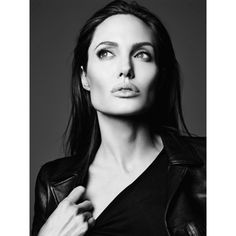 Angelina Jolie Elle Magazine June 2014 Russia cover ❤ liked on Polyvore featuring women