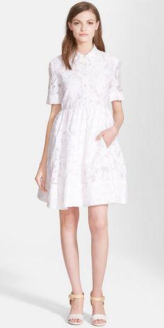 Tobin Shirtdress Robe Chemise, Robe D été Blanche, Petites Robes Blanches,  Mode.   8e20585070f6