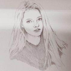 #sketch #drawing #girl #mackenziefoy #illust #art #fanart #illustration #model #pencil #artworks #wip #스케치 #드로잉 #일러스트 #여자그림 #배우 #모델 #감성일러스트  #감성 #손그림 #