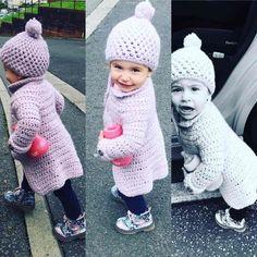 Longline Merino Wool Coat - Free Crochet Pattern -
