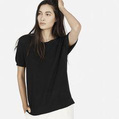 The Cotton Sweater Short-Sleeve - Everlane