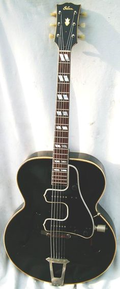 1945 Gibson L-7 Black with double McCarty unit