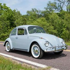 1966 Volkswagen Beetle, off white color standard Beetle. New 1600 cc Engine with only 600 miles. Classic European Cars, Bmw Classic Cars, Classic Chevy Trucks, Classic Auto, Custom Pickup Trucks, Gm Trucks, Diesel Trucks, Car Barn, Best Muscle Cars