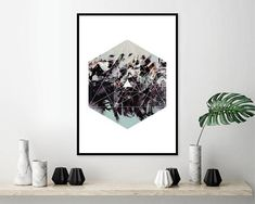Downloadable Geometric Print, Abstract, Geometric, Sacred Geometry, Prints, Art, Posters, Wall Art, Boho, Zen, Modern, Hexagonal, Printable THESE ARE INSTANT DOWNLOADS – Your files will be available instantly after purchase. :::: Please note that this is a digital download ONLY,
