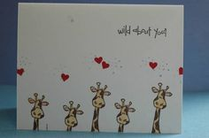 judith stamps giraffe by nuts4levibutts - Cards and Paper Crafts at Splitcoaststampers