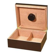 Cheap humidor for beginner.  Check out the humidor review by clicking the image. http://www.theperfectgiftsforhim.com/the-capri-cigar-humidor-review/