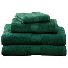 Hunter Four-Piece Cotton Towel Set  $19.95