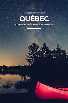 Canada, comment préparer son voyage au Québec. Canada, comment préparer son voyage au Québec. Tout savoir pour organiser un voyage au Québec : quand partir, quel itinéraire choisir, où se loger… #Québec #Canada