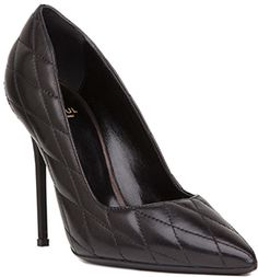 Raoul Pointed Pump Stiletto in Black