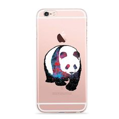 iPhone 6 6S Case,Cute Animal Panda Pattern Printed Soft TPU Silicone Protective Skin Ultra Slim & Clear with Unique Painted Design Color Printing Gift Cover for 6/6s ,colorful panda. Brand new in high quality perfect fit for iPhone 6 6S.'Customized picture printing service supported' please send us picture to print if you want to make your own phone case!!. FEATURE : 'Image Printed ' on the Case in high quality with high definition,do not fade & not sticker;'Unique Style' with full of...