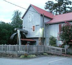 Saunooke Mill, near Cherokee, Swain Co., NC.