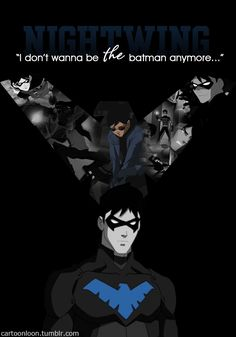 Young Justice / Nightwing / And that's what he turned out to be. A man who didn't trust the friends around him and treated his teammates like pieces on a chessboard. He became exactly what he feared he would.