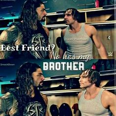 Good luck to both wwe Roman reigns and wwe Dean Ambrose at fast Lane may the best man win I just love them both believe that