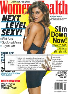 The November US issue of Women's Health magazine is on fire! Pick up the Ashley Greene issue, where you'll find SkinPerfect Primer SPF 30 on pg.147! If you want light coverage while protecting your skin from the elements, even when working out, you'll love it! www.dermalogica.com